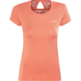 Columbia Peak to Point Novelty - T-shirt manches courtes Femme - orange